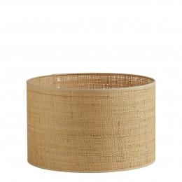 Abat-jour cylindrique raphia - Diam. 40 cm