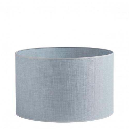 Abat-jour cylindrique bleu clair - Diam. 45 cm