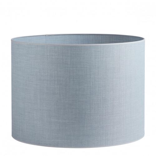 Abat-jour cylindrique bleu clair - Diam. 55 cm
