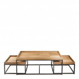 Set de 3 tables basses CELINE