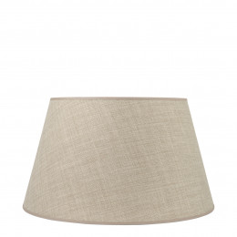 Abat-jour conique beige - Diam. 45 cm
