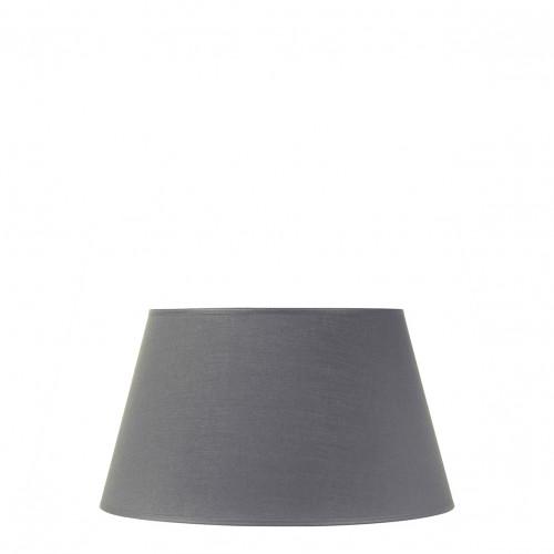 Abat-jour conique gris - Diam. 35 cm