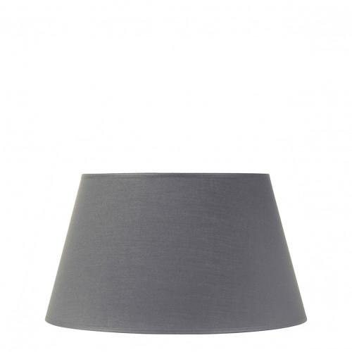 Abat-jour conique gris - Diam. 40 cm