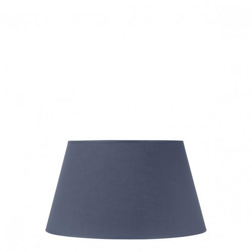 Abat-jour conique indigo - Diam. 35 cm