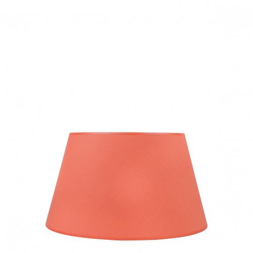 Abat-jour conique orange brûlé - Diam. 35 cm
