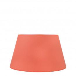 Abat-jour conique orange brûlé - Diam. 40 cm