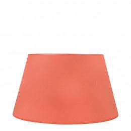 Abat-jour conique orange brûlé - Diam. 45 cm