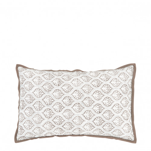 Coussin ANANDA taupe