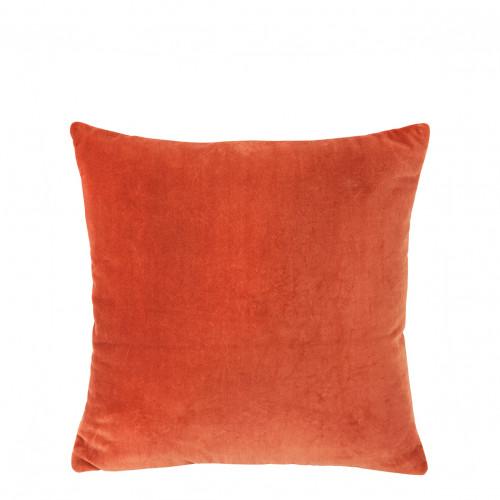Coussin MATTEO orange brûlé