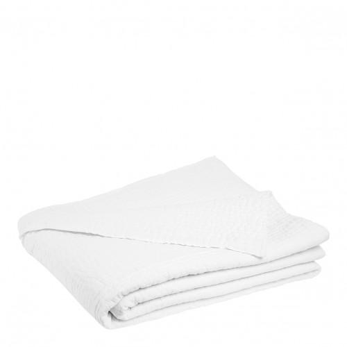 Dessus de lit CESAR blanc - 230 x 180 cm