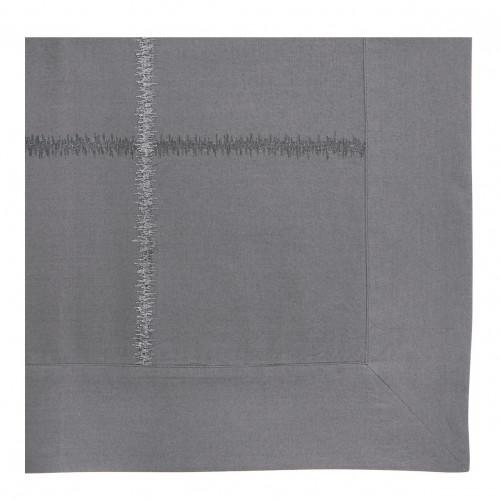 Housse de couette GABRIELLE ardoise - 240 x 220 cm