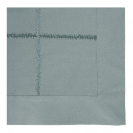 Housse de couette GABRIELLE lagon - 240 x 220 cm