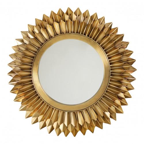 Miroir BELLAMY laiton vintage