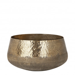 Pot ETHNIC laiton antique