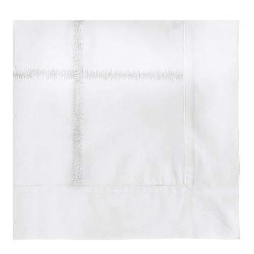 Taie d'oreiller GABRIELLE blanc - 75 x 50 cm