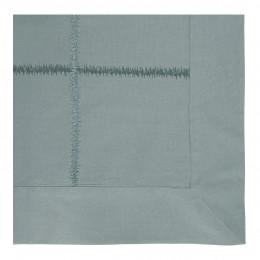 Taie d'oreiller GABRIELLE lagon - 65 x 65 cm