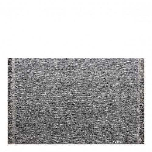 Tapis ENTRELACS gris foncé