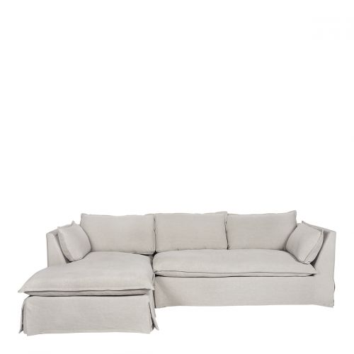 Canapé d'angle LENA mastic