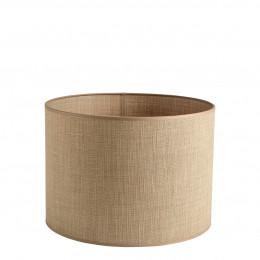 Abat-jour cylindrique beige - Diam. 35 cm