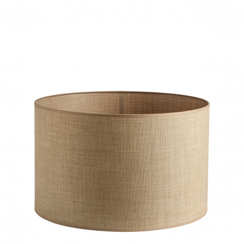 Abat-jour cylindrique beige - Diam. 40 cm