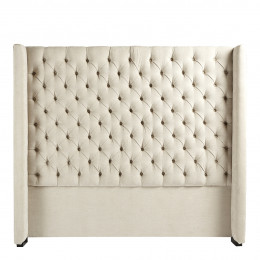 Tête de lit COLBY craie - 160 cm