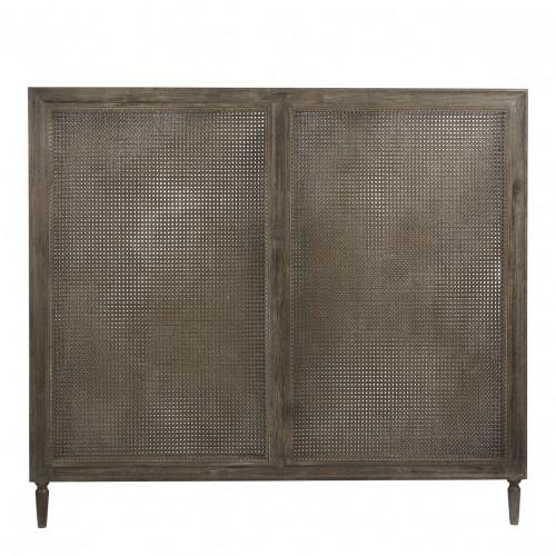 Tête de lit IDA expresso - 180 cm