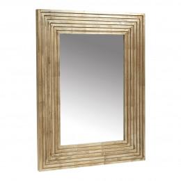 Miroir MARIELLA doré vieilli