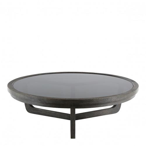 Table basse MAXTON brun - Grand modèle