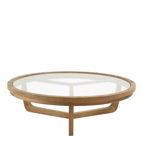 Table basse MAXTON naturel - Grand modèle