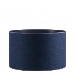 Abat-jour cylindrique indigo - Diam. 45 cm